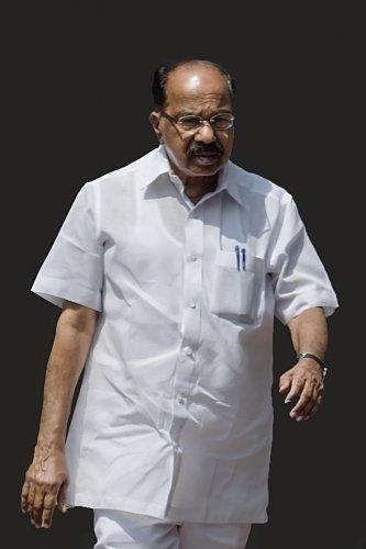 M Veerappa Moily