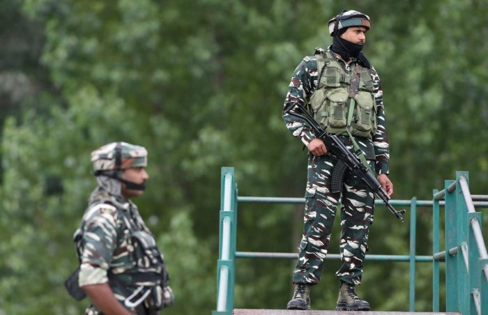 A soldier was injured in a sniper fire from across the Line of Control. PTI (file photo)