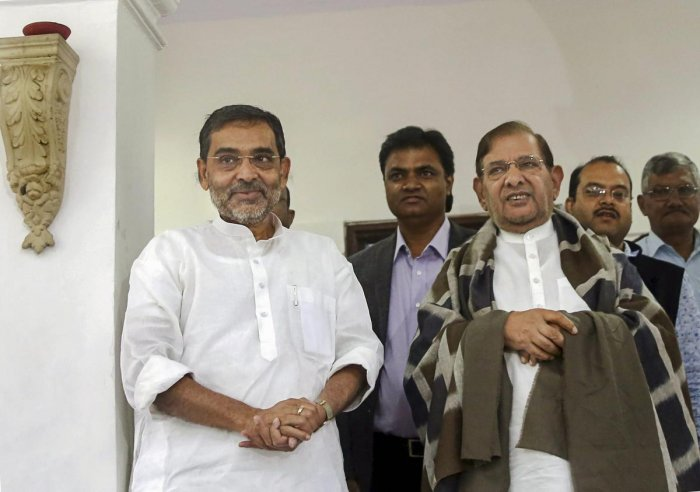 Kushwaha, who is Union minister of state for HRD, besides being the president of his pocket organisation Rashtriya Lok Samata Party (RLSP), is to be blamed for the shabby treatment that was meted out to him.
