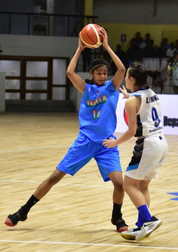 India's Sanjana Ramesh has received a National Collegiate Athletic Association (NCAA) Division I Women's college basketball scholarship in the United States. DH File Photo