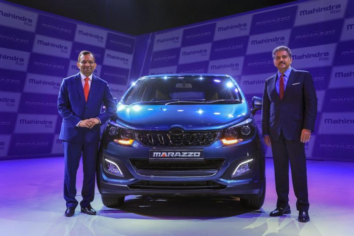 The Marazzo was launched in September with introductory prices starting at Rs 9.99 lakh and going up to Rs 13.90 lakh, depending on variants. (PTI file photo)