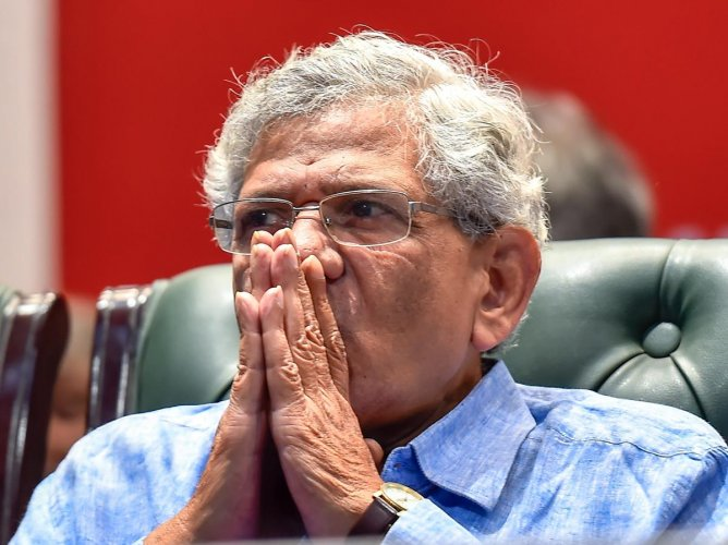 "CPM General Secretary Sitaram Yechury said, ""nothing less than a Supreme Court-monitored SIT probe can bring out the truth and fix accountability"" in the Rafale scam. PTI file photo"