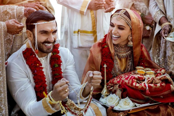 Both Deepika and Ranveer shared the photographs simultaneously on their respective social media accounts.