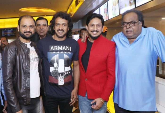 Director Shashank, Upendra, Ajai and Ambareesh at the event.