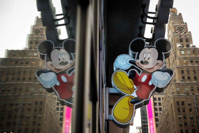 """Fans can also get their own Instagram moment with the ongoing """"Mickey: The True Original Exhibition"""" in New York. (AFP File Photo)"""