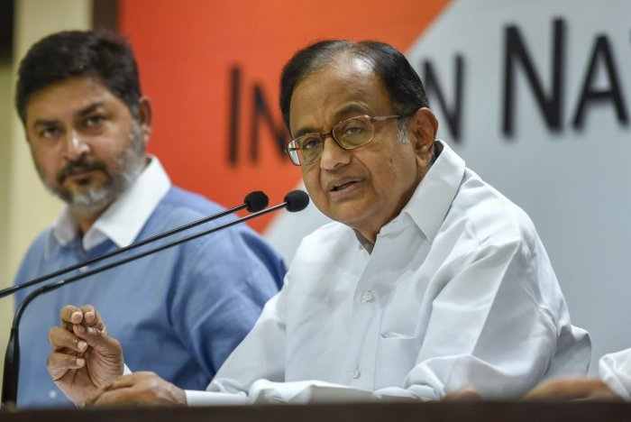 Amid a political war of words over the CBI, former Home Minister P Chidambaram on Sunday indicated that only 10 states have given general consent to agency to investigate and asked how many BJP-ruled states have done so. PTI file photo