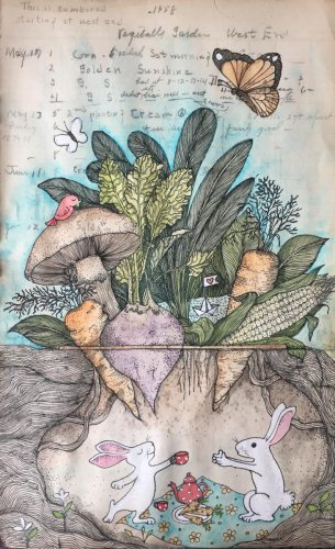 Bakula Nayak's artwork