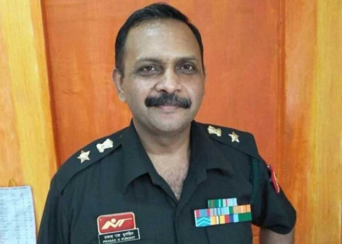 Lt Col Prasad Shrikant Purohit. File photo