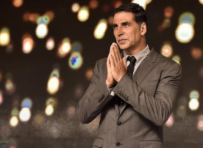 Actor Akshay Kumar says he was drawn to the film industry because it offered a lot of money for someone who was struggling back then. PTI file photo