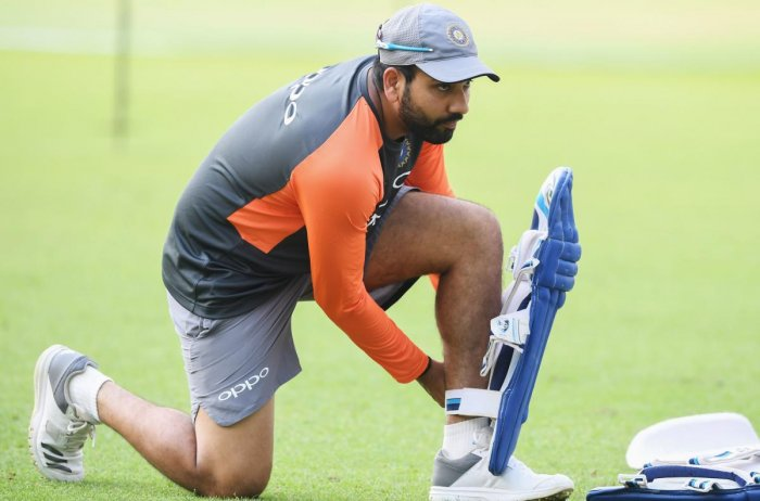 Rohit Sharma said Indian batsmen have it in them to tackle the pace and bounce of Australian pitches. AFP File Photo
