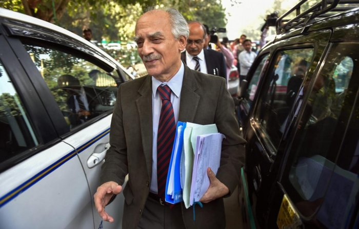 Former union minister Arun Shourie. (PTI File Photo)