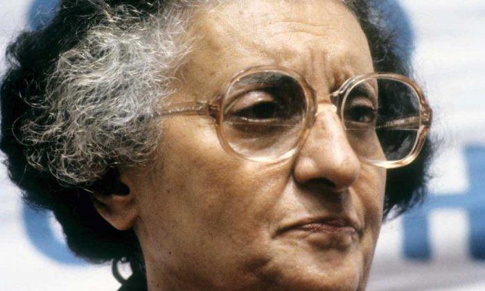 Former prime minister Indira Gandhi. (DH file photo)