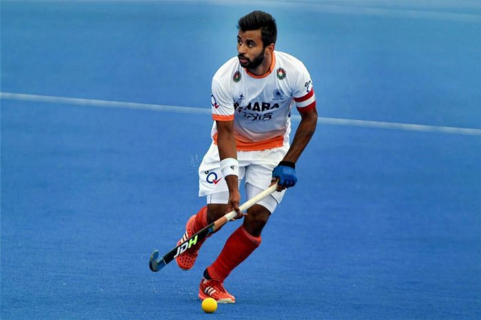 Manpreet Singh will captain Indian in the Asian Champions Trophy in Muscat next month. PTI file photo