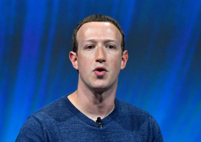 Facebook's CEO Mark Zuckerberg. AFP Photo