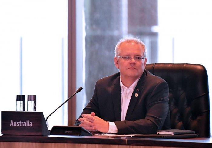 Australian Prime Minister Scott Morrison. AFP Photo
