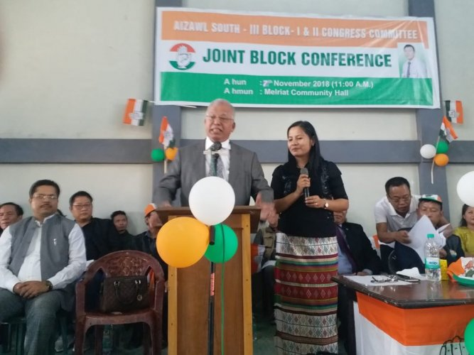 """The BJP is against minorities and the Christians... The party has brought intolerance and hatred against Christians and other minorities,"""" Congress general secretary Luizinho Faleiro told reporters. Picture courtesy Twitter"""