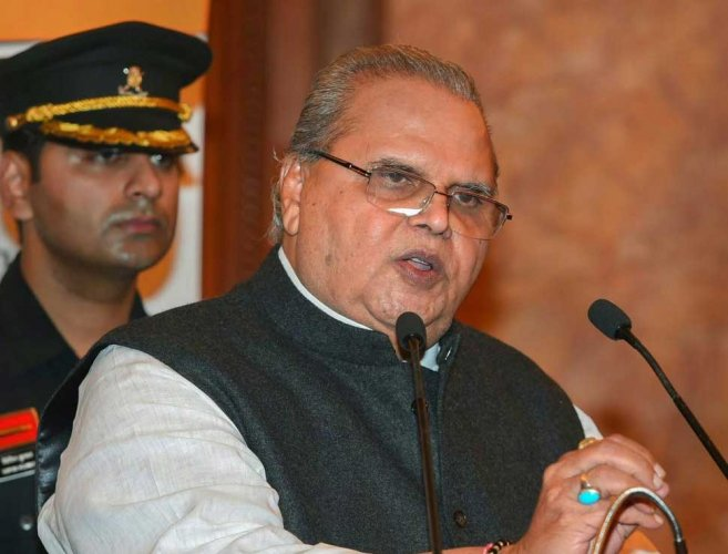 Jammu and Kashmir Governor Staya Pal Malik. PTI file photo