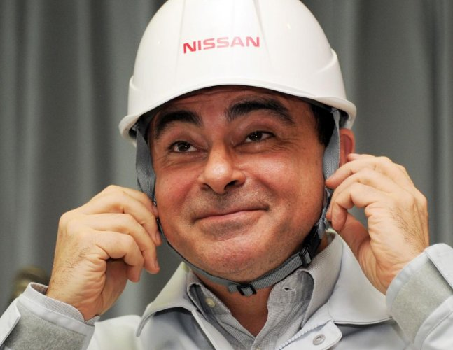Nissan President and CEO Carlos Ghosn. (AFP File Photo)