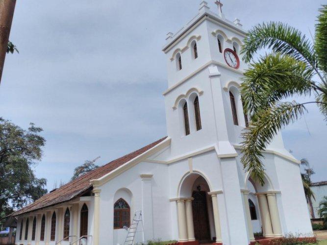 St Paul's CSI Church located near Nehru Maidan in Mangaluru, completes 175 years.