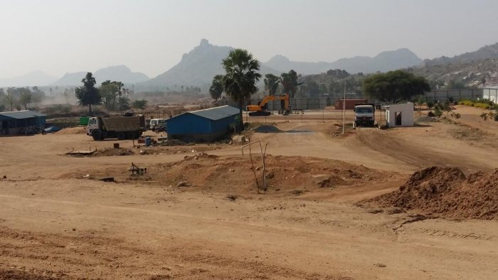 The Dindi Lift project area. DH PHOTO