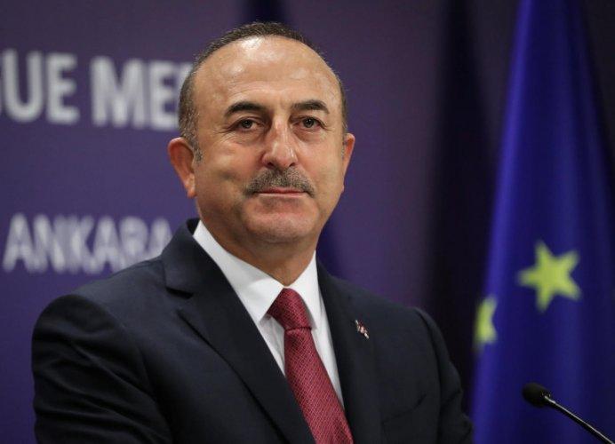 Turkey's Foreign Minister Cavusoglu. Reutersfile photo