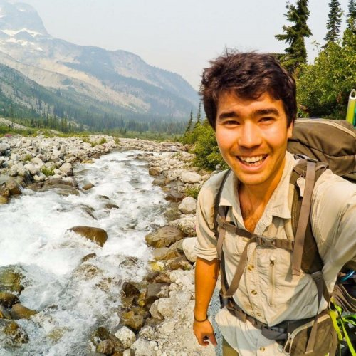 An American self-styled adventurer and Christian missionary, John Allen Chau. (@JOHNACHAU/via REUTERS)
