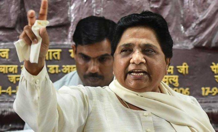 BSP chief Mayawati. PTI file photo.