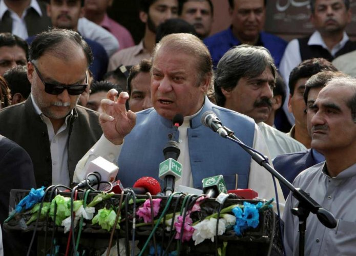 Pakistan's ousted prime minister Nawaz Sharif. File photo
