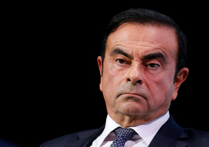 Nissan's former chairman Carlos Ghosn has denied allegations of financial misconduct, claiming he had no intention of making false reports, Japanese media said on Sunday. Reuters file photo