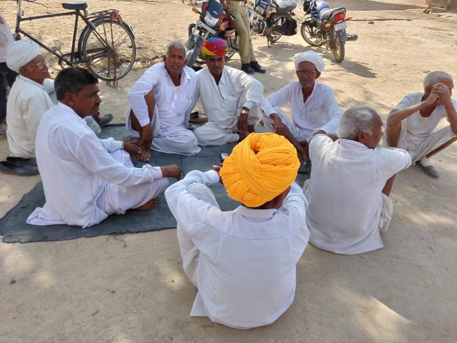 Villagers of Dangawas, who lost their family members in 2015 violence, feel left out in the present scenario.