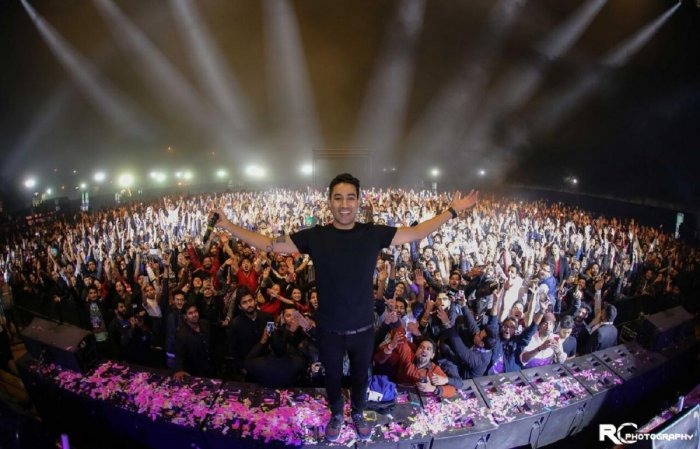Nucleya performed recently at Phoenix MarketCity as part of Sunburn Arena Tour.