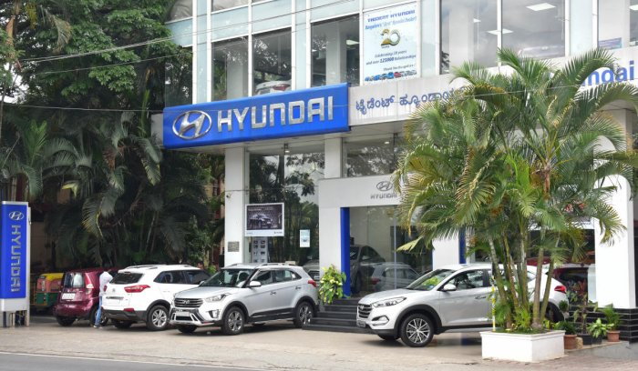 Automobiles sales in the city have dipped marginally and dealers are citing city's choked traffic as one of the reasons.