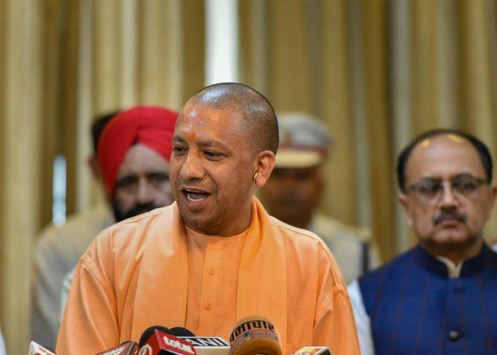 Uttar Pradesh Chief Minister Yogi Adityanath. PTI file photo