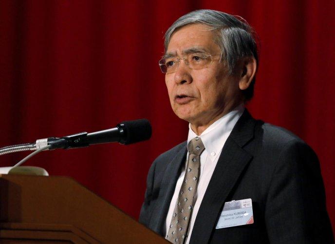 Bank of Japan (BOJ) Governor Haruhiko Kuroda attends the Paris Europlace International Financial Forum in Tokyo, Japan. (REUTERS File Photo)