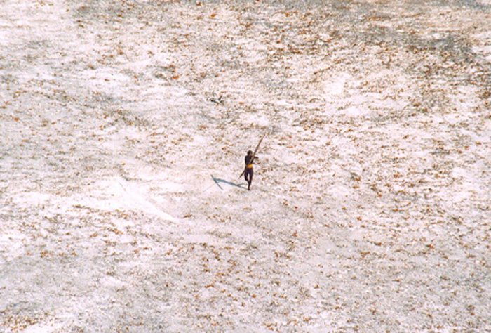 Police are taking painstaking efforts to avoid any disruption to the Sentinelese -- a pre-neolithic tribe whose island is off-limits to outsiders -- as they seek Chau's body. (Reuters File Photo)