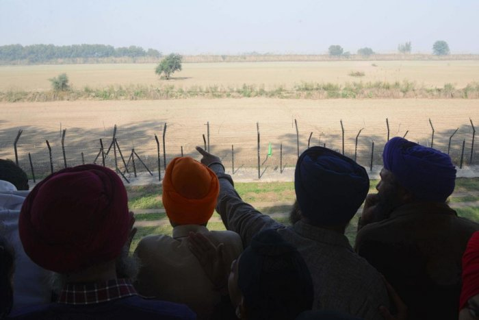 Punjab's Jails Minister Sukhjinder Singh Randhawa was reviewing the arrangements made for the function at Dera Baba Nanak here when he spotted the names of the Badals on the foundation stone. (AFP File Photo)