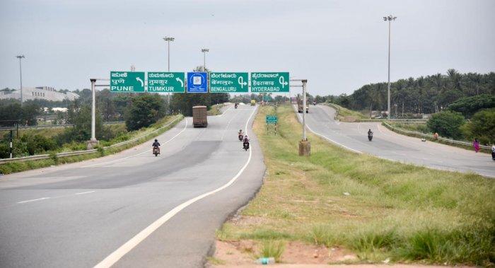 Nice Road . Photo/ B H Shivakumar