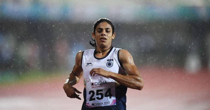 Nirmala Sheoran has tested positive for a banned substance. AFP
