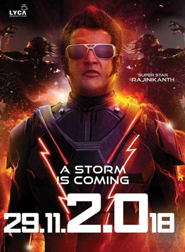 '2.0' will hit the screens this Thursday.