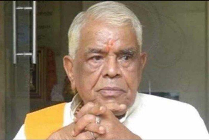 Former Madhya Pradesh chief minister Babulal Gaur.