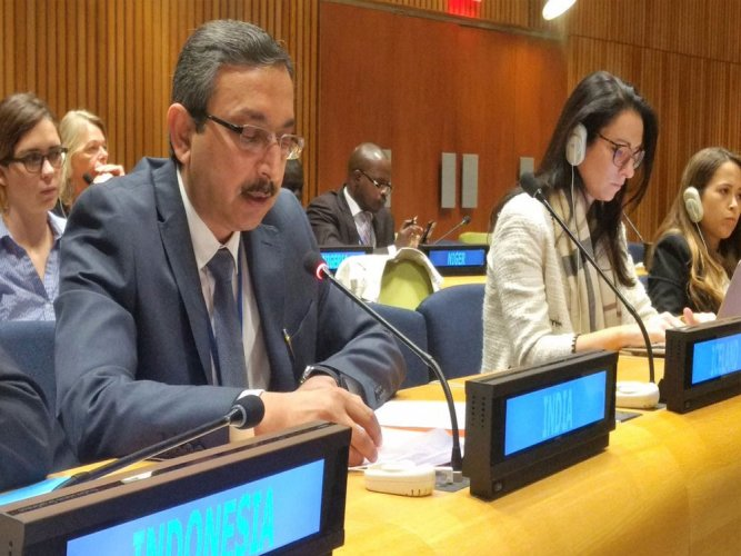 Strengthening regional security, economic cooperation, transit and energy linkages and deepening of cultural ties are some of the areas where cooperation between the UN and the SCO will contribute positively, India's Deputy Permanent Representative to the UN Ambassador Tanmaya Lal said. (File Photo)