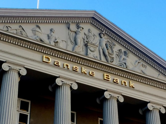 The Danske Bank building in Copenhagen. Reuters