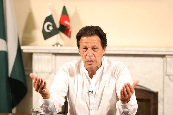 Pakistan Prime Minister Imran Khan. AFP file photo
