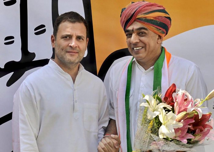 """Fighting the most keenly observed contest in Rajasthan polls, Congress candidate Manvendra Singh said Friday it was an """"uphill task"""" to beat Rajasthan Chief Minister Vasundhara Raje in her political fortress of Jhalrapatan, but he was here to """"fight and w"""