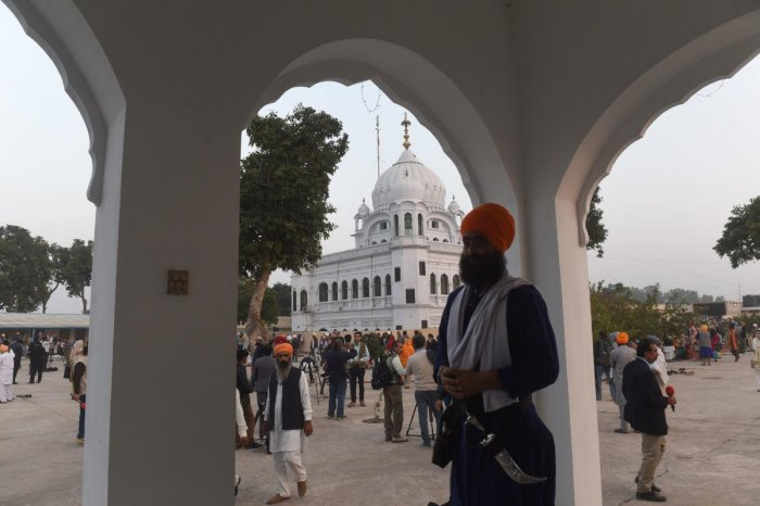 The Kartarpur corridor, which India had proposed to Pakistan around 20 years ago, is expected to be completed within six months. AFP Photo