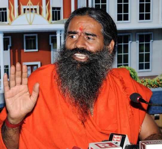 Yoga guru Ramdev. PTI Photo