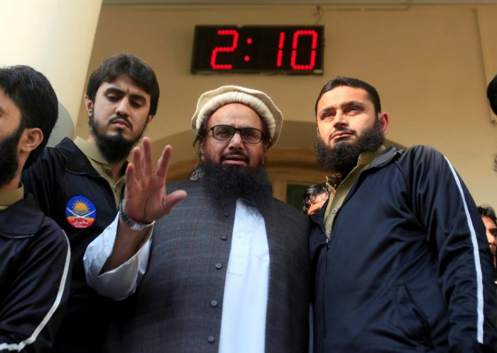 JuD chief Hafiz Saeed. Reuters Photo