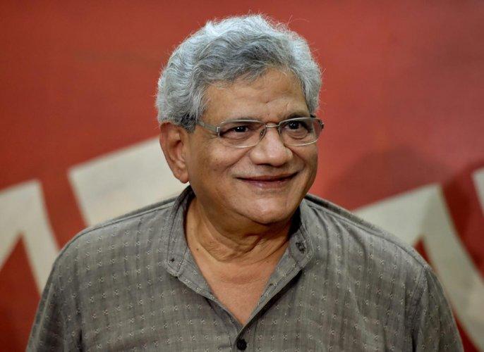 CPM general secretary Sitaram Yechury. PTI Photo