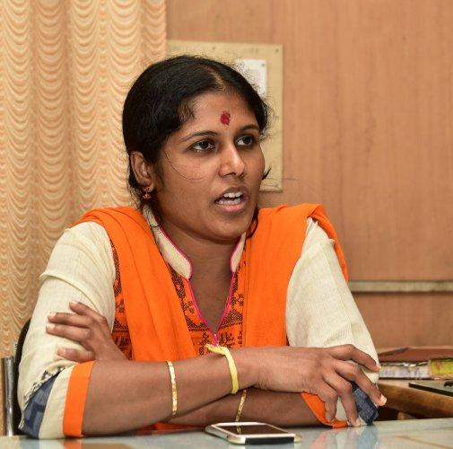 Mayor Gangambike Mallikarjun.