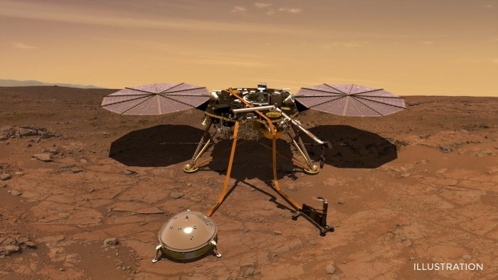 Photo: Twitter/NASAInSight
